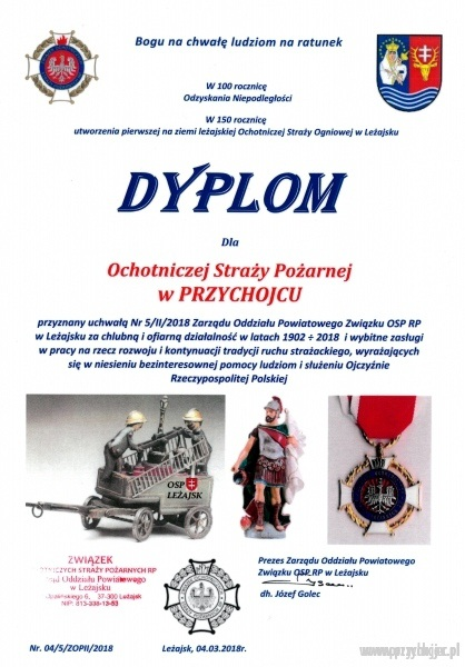 Dyplom OSP